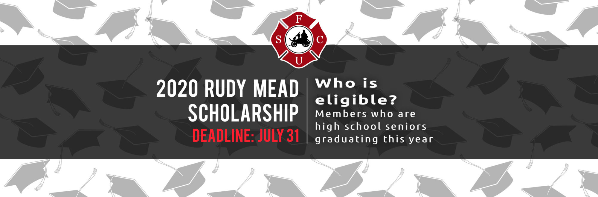 Members who are seniors graduating this year are eligible to apply for the 2020 Rudy Mead Scholarship. Apply by May 22nd.